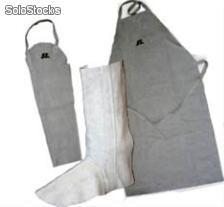 Equipamentos de proteção em raspa para soldador - Casa da Polia 48a08c1aca